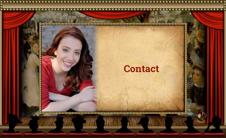 Contact page Marissa Katz