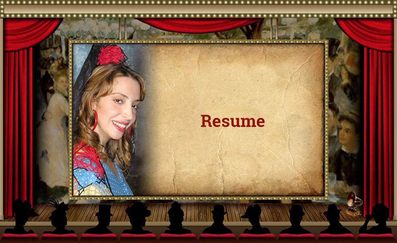Resume Page Marissa Katz